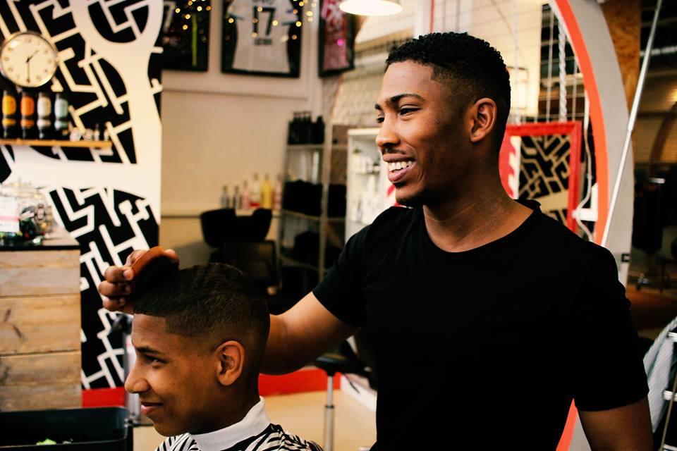 Black hair barbershop Eindhoven